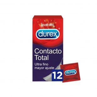 Durex Preservativos Sensitivo Contacto Total Súper Fino Caja 12 Unidades | Farmacia Sant Ermengol