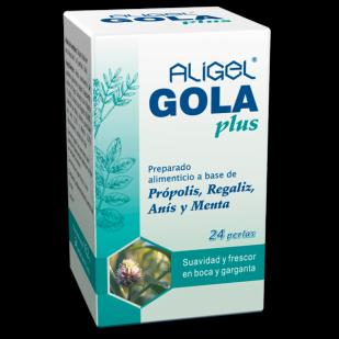 Apicol Aligel Gola Plus 24 Perlas   Farmacia Sant Ermengol