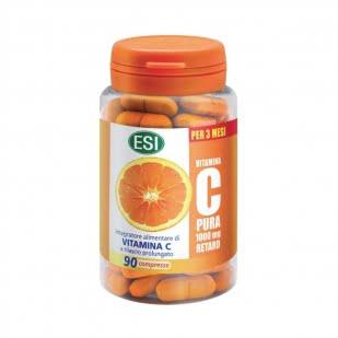 Esi Vitamina C Pura 1000Mg Retard (90 Comprimidos) | Farmacia Sant Ermengol