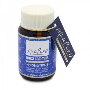 Estado Puro Maxi Enzimas + Probioticos 40 Capsulas Vegetales | Farmacia Sant Ermengol