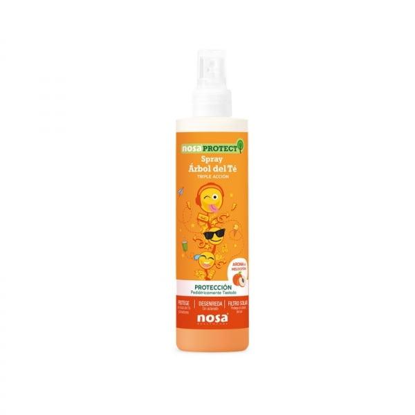 Nosa Protect Spray Desenredante Árbol Del Té Melocotón 250Ml | Farmacia Sant Ermengol