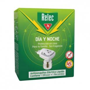 Relec Día Y Noche Difusor Antimosquitos Eléctrico + 1 Recambio 35Ml | Farmacia Sant Ermengol