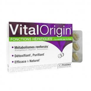 3C Pharma Vital Origin Funciones Hepáticas 60 Comprimidos | Farmacia Sant Ermengol