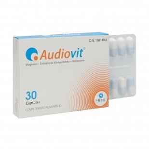 Audiovit 30 Cápsulas   Farmacia Sant Ermengol