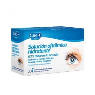 Care + Solucion Oftalmica Hidratante 0.2% Hialuro 0.5 Ml 20 Viales   Farmacia Sant Ermengol