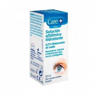 Care + Solución Oftálmica Hidratante 10Ml   Farmacia Sant Ermengol