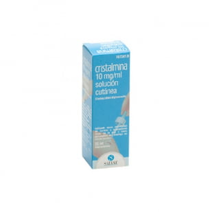Cristalmina 10 Mg/Ml Solucion Topica 1 Frasco 25 Ml | Farmacia Sant Ermengol