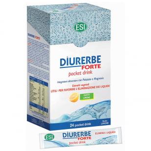 Esi Diurerbe Forte Pocket Drink Limón Trepat Diet   Farmacia Sant Ermengol