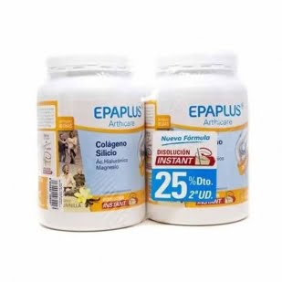 Epaplus Arthicare Colágeno + Silicio (+ Hialurónico + Mg + Vitaminas) Sabor Vainilla