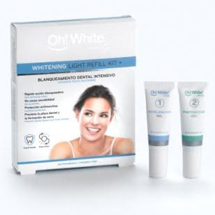 Oh! White Whitening Light Refill Kit+ Recambios Para Kit | Farmacia Sant Ermengol