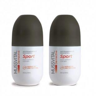 Mussvital Dermactive Desodorante Sport Para Hombres Dúo 2X75Ml | Farmacia Sant Ermengol