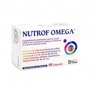 Nutrof Omega 60 Cápsulas | Farmacia Sant Ermengol