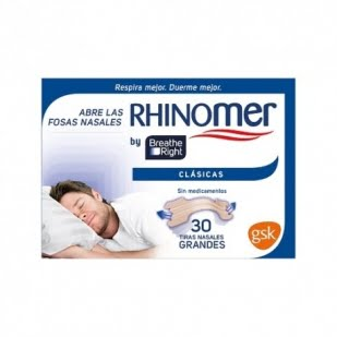 Rhinomer 30 Tiras Nasales Tamaño Grande | Farmacia Sant Ermengol