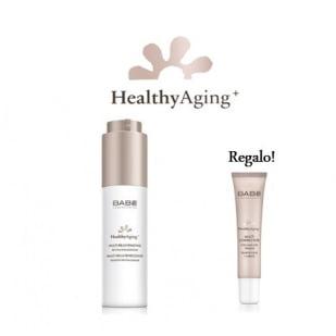 Babe Healthy Aging Multi Reparadora Crema Renovadora Noche+ Ojos Y Labios Tensor Regalo Pack Multi Reparador | Farmacia Sant Ermengol