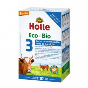 Holle Leche Continuación 3 Eco +10 Meses 600Gr   Farmacia Sant Ermengol