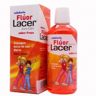 Lacer Fluor Sabor Fresa Diario | Farmacia Sant Ermengol