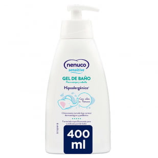 Nenuco Sensitive Gel Baño 400 Ml | Farmacia Sant Ermengol